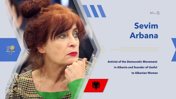سویم آربانا رئیس انجمن زنان آلبانی