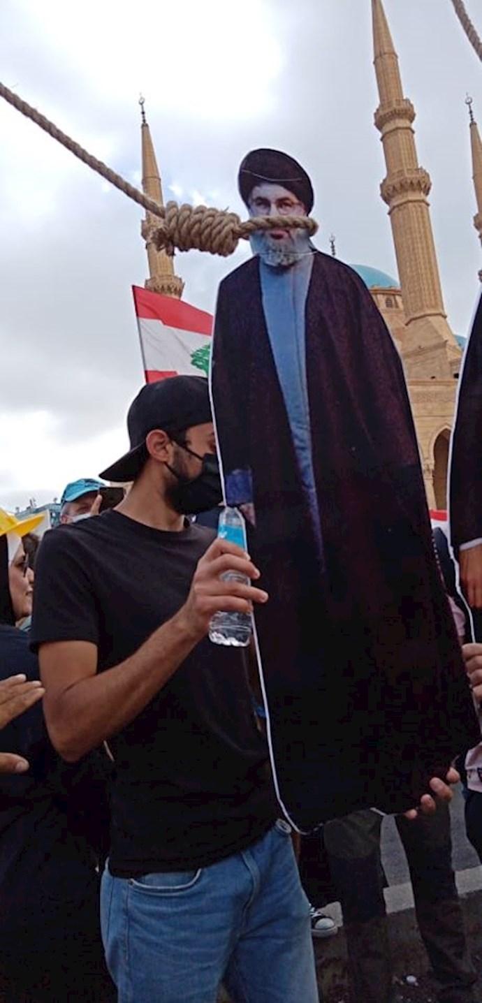 تظاهرات و درگیری مردم خشمگین بیروت - 4