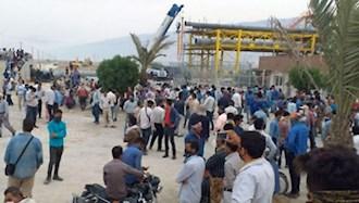 اعتصاب سراسری کارگران حوزه نفت