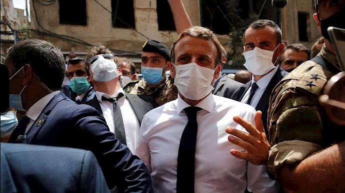دیدار ماکرون از بیروت -۱۶مرداد