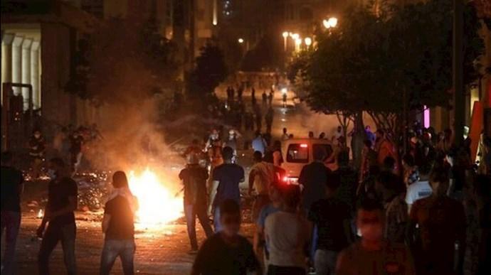 خشم فزاینده مردمی علیه مقامات لبنان پس از انفجار بیروت