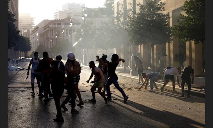 دومین روز تظاهرات مردم لبنان - 1