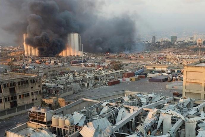 انفجار در بیروت؛ بیش از ۱۰۰ کشته و هزاران زخمی - 6