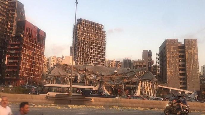 وقوع انفجار مهیب بیروت را لرزاند - 4