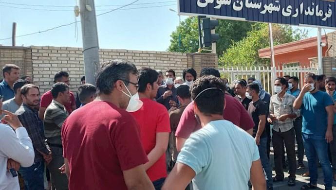 پنجاه و هفتمین روز اعتصاب کارگران هفتتپه