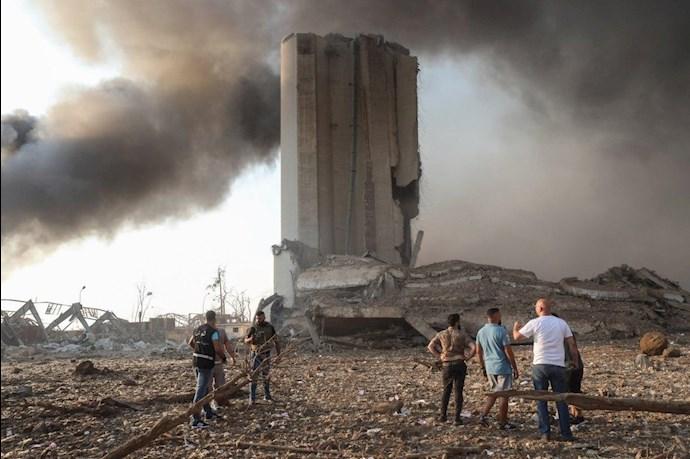 وقوع انفجار مهیب بیروت را لرزاند - 6