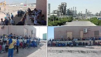 پانزدهمین روز اعتصاب و کارگران پالایشگاهها