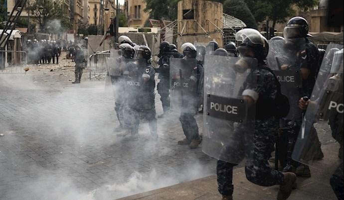 تظاهرات مردم بیروت - ۱۸مرداد۹۹ - 3