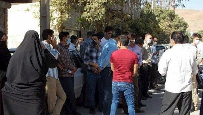 تجمع اهالی شهرکهای نورآباد دلفان