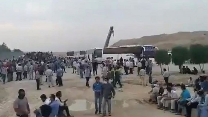 اعتصاب کارگران پالایشگاه های جنوبی ایران