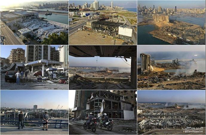 انفجار در بیروت؛ بیش از ۱۰۰ کشته و هزاران زخمی - 15