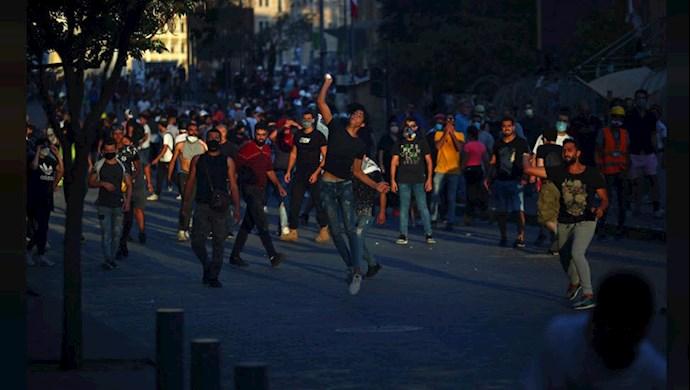 دومین روز تظاهرات در لبنان