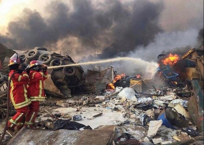 انفجار در بیروت؛ بیش از ۱۰۰ کشته و هزاران زخمی - 4