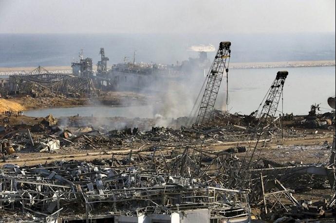 انفجار در بیروت؛ بیش از ۱۰۰ کشته و هزاران زخمی - 17