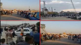 بیست و ششمین روز از اعتراض سراسری کارگران صنایع نفت و پتروشیمی