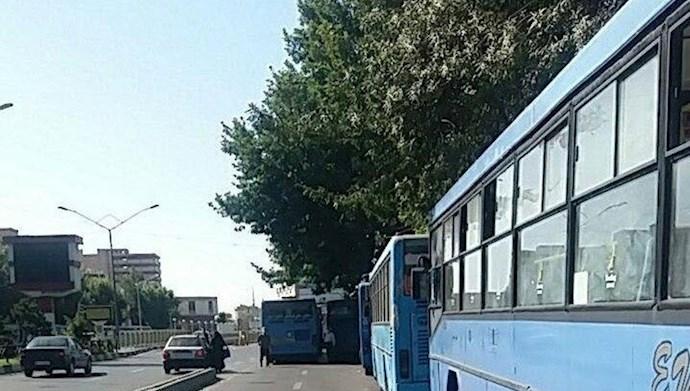 اعتصاب رانندگان ناوگان اتوبوسرانی اورمیه