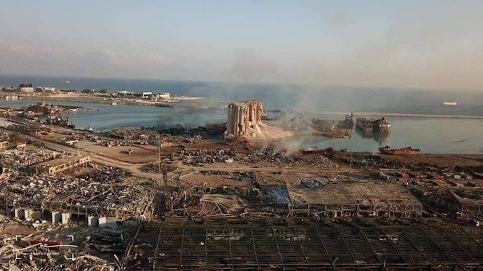 انفجار در بیروت؛ بیش از ۱۰۰ کشته و هزاران زخمی - 12