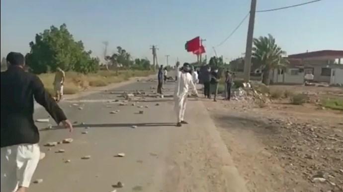 درگیری در کیانشهر اهواز بهخاطر تخریب خانههای مردم