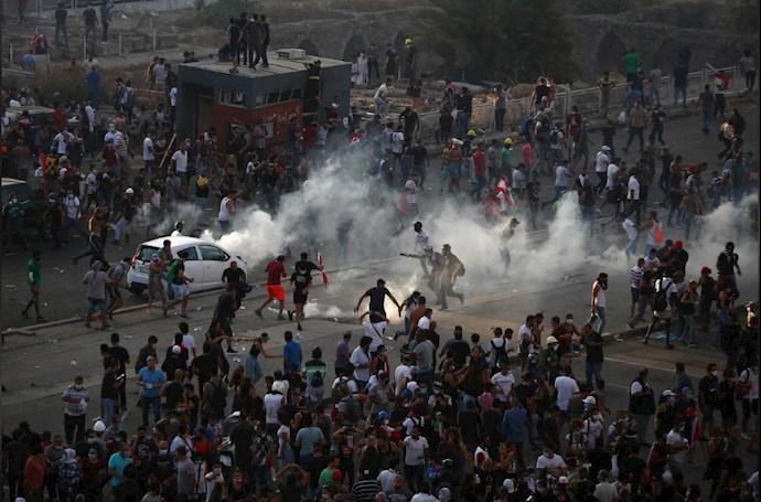 تظاهرات مردم بیروت - ۱۸مرداد۹۹ - 5