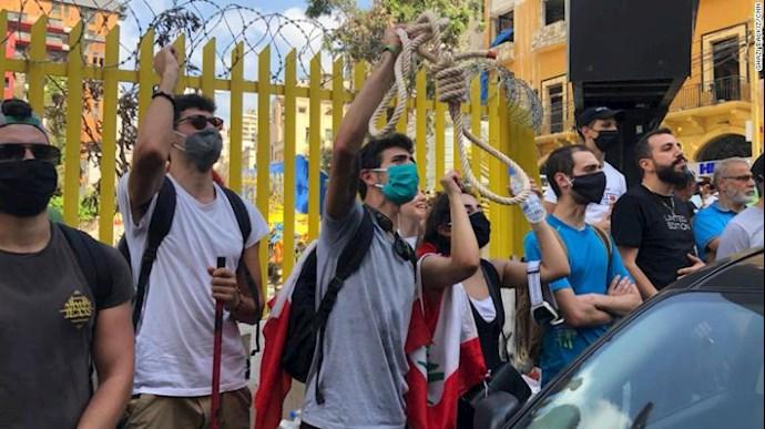 تظاهرات و درگیری مردم خشمگین بیروت - 5