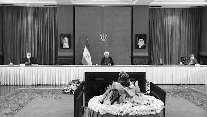 آخوند روحانی در جلسه ستاد کرونا -۱۱مرداد۹۹