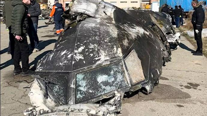 سرنگون کردن هواپیمای مسافربری اوکراینی توسط شلیک دو موشک سپاه