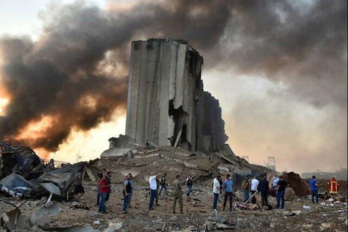انفجار در بیروت؛ بیش از ۱۰۰ کشته و هزاران زخمی - 16