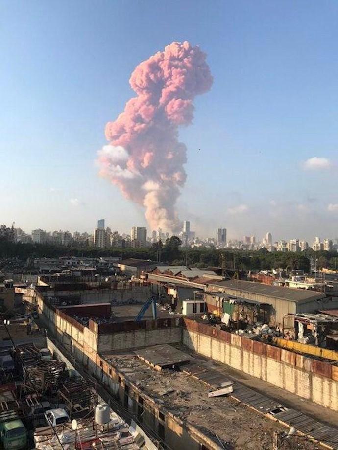 وقوع انفجار مهیب بیروت را لرزاند - 0