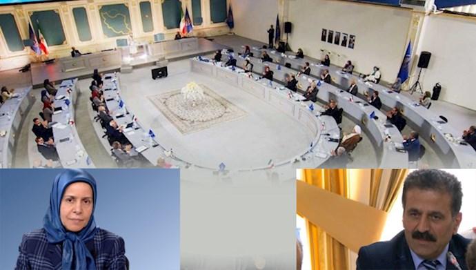 اجلاس سه روزه شورای ملی مقاومت ایران در آغاز چهلمین سال تأسیس شورا - بدری پورطباخ - کاک بابا شیخ
