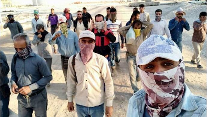 اعتصاب کارگران پالایشگاه جفیر اهواز  - عکس از آرشیو