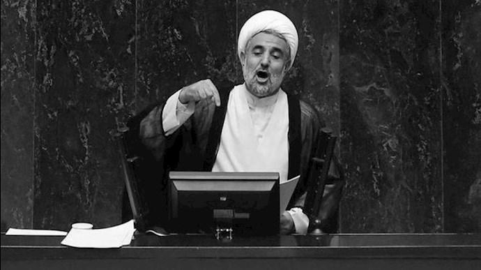 آخوند مجتبی ذوالنوری رئیس کمیسیون امنیت مجلس ارتجاع