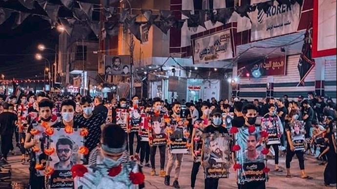 جوانان شورشی عراق عزاداری حسینی را به صحنه انقلاب و ادامه نبرد برای رهایی تبدیل کردند