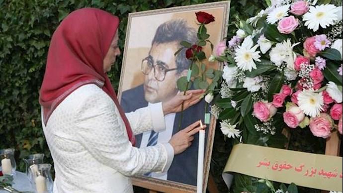 به یاد دکتر کاظم رجوی شهید بزرگ حقوق بشر