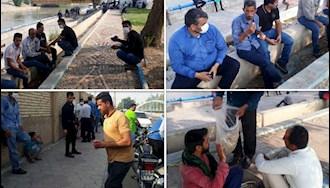 شوش.چهل و نهمین  روز اعتصاب کارگران نیشکر هفت تپه- ۱۲مرداد۹۹