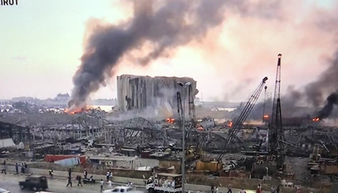 وقوع انفجار مهیب بیروت را لرزاند - 5