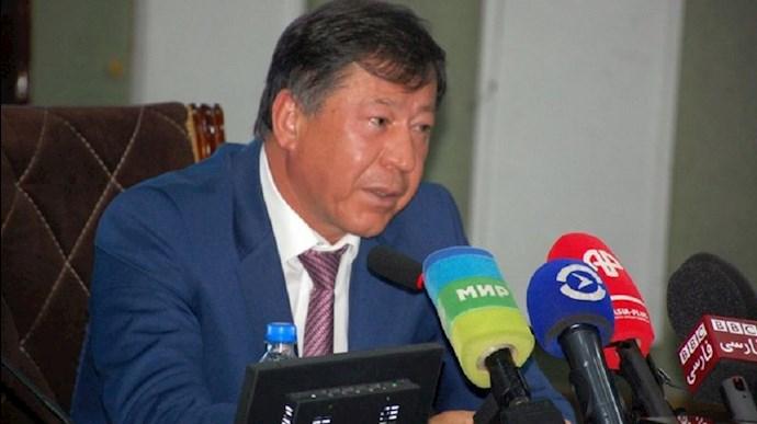 وزیر کشور تاجیکستان