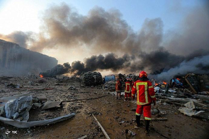 انفجار در بیروت؛ بیش از ۱۰۰ کشته و هزاران زخمی - 8