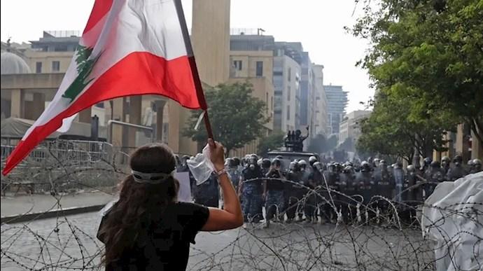 دومین روز تظاهرات مردم لبنان