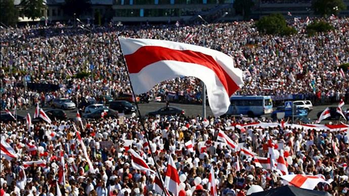تظاهرات در بلاروس