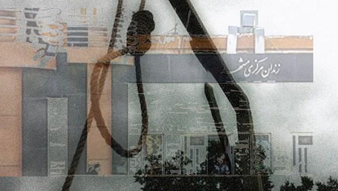 ۵ زندانی از جمله یک زن در مشهد اعدام شدند