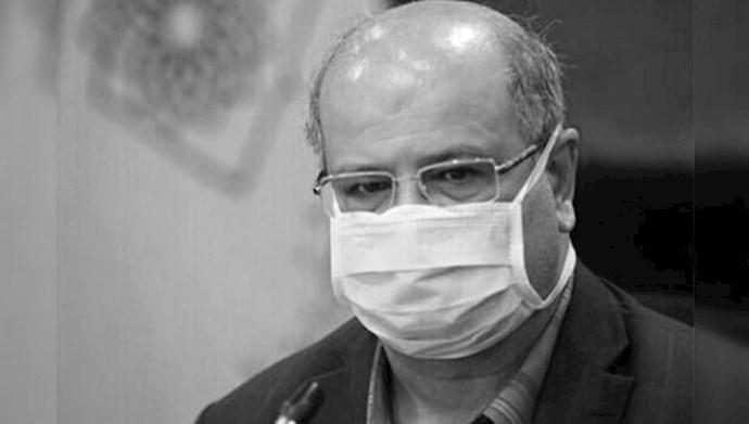 زالی رئیس ستاد حکومتی مقابله با کرونا در شهر تهران