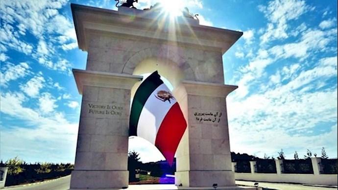 تصویری از نماد پیروزی در اشرف۳