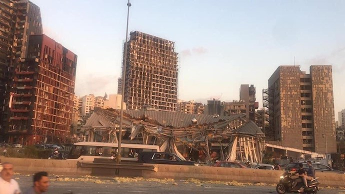 انفجار در بیروت؛ بیش از ۱۰۰ کشته و هزاران زخمی - 3