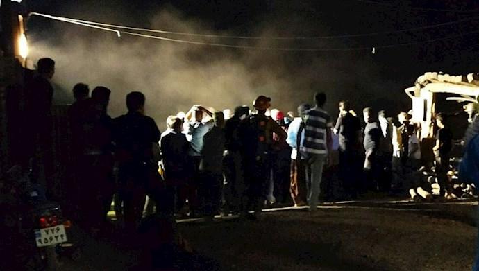 کشته شدن دو کارگر  در انفجار معدن در سرخس