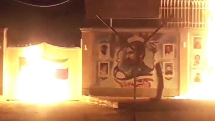 فعالیت کانوهای شورشی در شهر های میهن