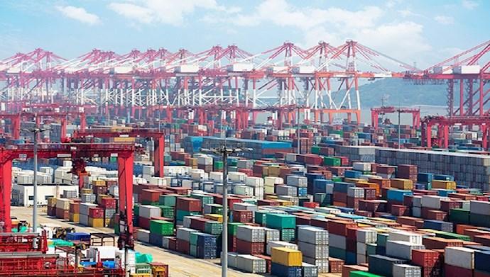 افت تجارت رژیم ایران با چین