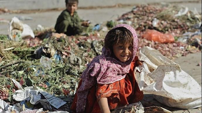 زبالهگردی کودکان تصویری از فساد حاکمیت ولایت فقیه