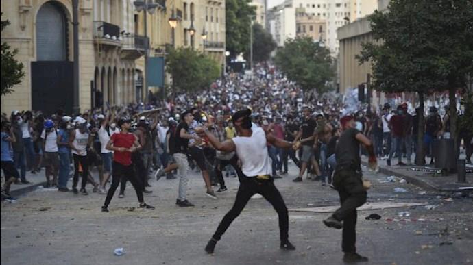 دومین روز تظاهرات مردم لبنان - 4