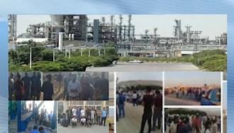 نوزدهمین روز اعتصاب کارگران پالایشگاههای نفت