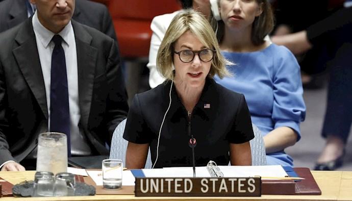 کلی کرافت سفیر آمریکا در سازمان ملل